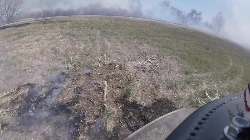 Helmet Cam Spot Fire