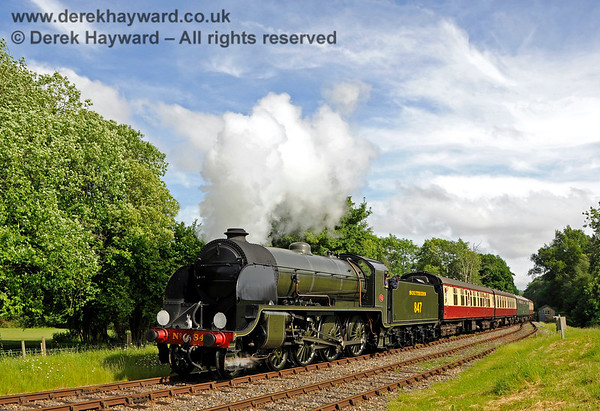 Locomotives in service