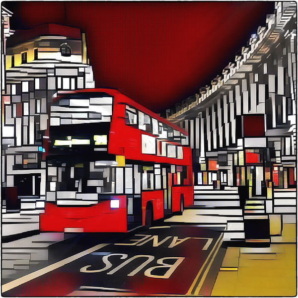 Mondrian Bus London