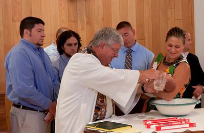 Augustus' Baptism