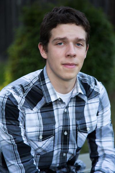 Tristan Winkle Senior HS Portraits