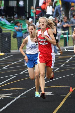 Girl's 3200 Meter Run - 2012 MHSAA LP D3 T&F