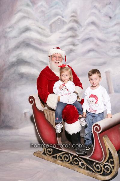 Santa @ Milton Community