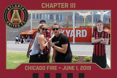 ATL United V.S. Chicago Fire HDBY - 6/1/2019