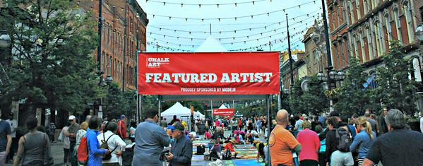 2018 06 03: Chalk Art, Larimer Square, Denver CO