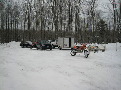 Moto-Skinner's Winter Ride - 2007