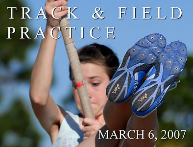 Track Practice March 6