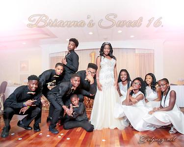 Brianna's Sweet 16 July 13 2018