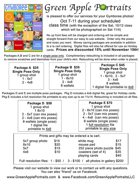 Pricing Flyer