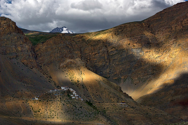Kaza - the heart of the Spiti Valley