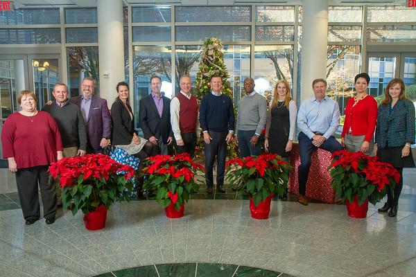 2018 Holiday Photos. Kevin Hart's Team