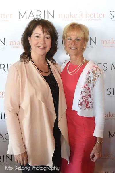 Michele Johnson and Kathleen Woodcock
