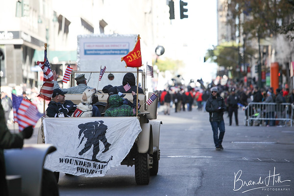 Wounded Warrior Project's Veteran's Day Parade