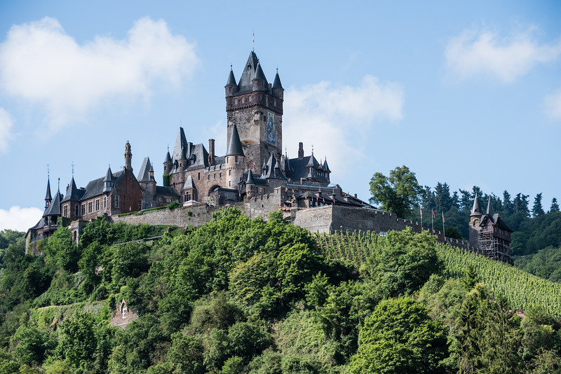 Day 10 - leaving Mosel, visiting Burg Eltz, before visiting Margraten, July 13th