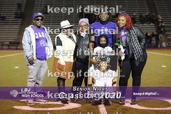 LBJ Senior Night 2020
