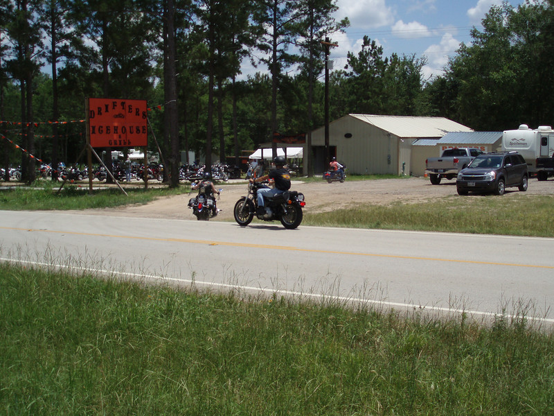 One of several biker joints on the route