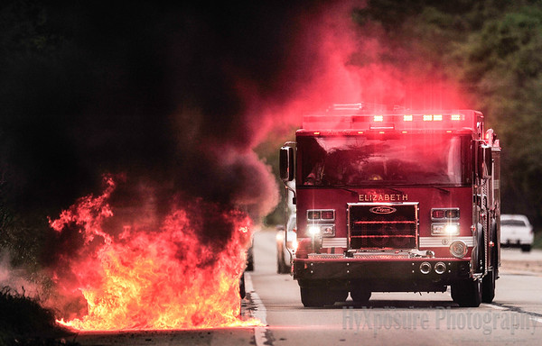 Vehicle Fire  Rt 51 Elizabeth Boro