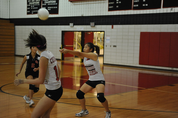 Quince Orchard JV  Girls Volleyball 2010