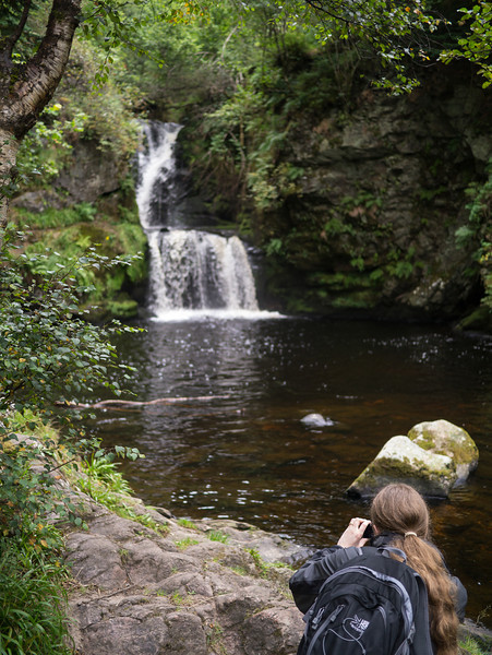 Waterfall at Aberlour