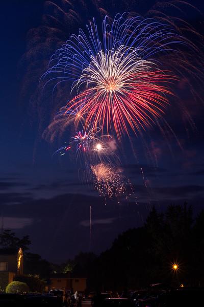 Irondequoit 4th of July Fireworks - July 4, 2013