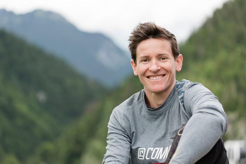Anne-Caroline Chausson / World Champion Mountain Biker, BMX Olympic Gold Medalist / La Clusaz, France, 2017