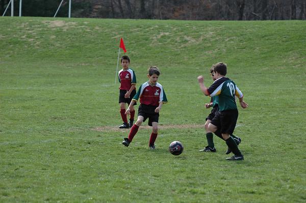 Conor's 2007 spring Soccer