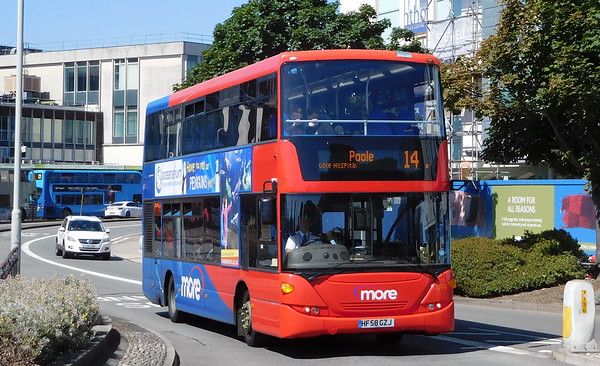 Scania N230UD (integral) - ex-Southampton Unilink