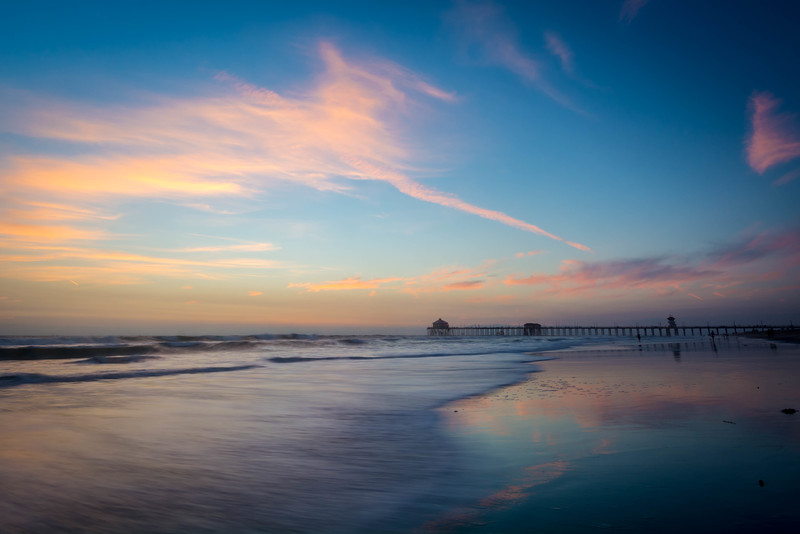 Sunset Pastels - Huntington Beach, CA, USA