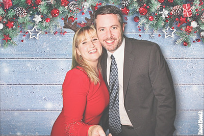 12-15-18 Atlanta Woodward Academy Photo Booth - Woodward Academy Holiday Party 2018 - Robot Booth