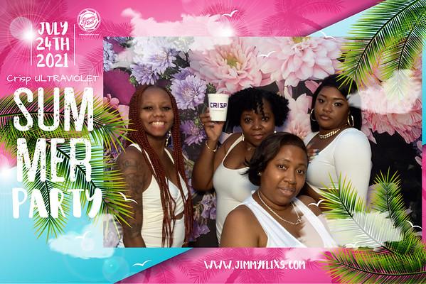 CRISP ULTRAVIOLET ALL WHITE PARTY  07.24.2021