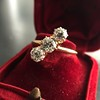 1.38ctw Antique Old European Cut Diamond 3-Stone Ring 22