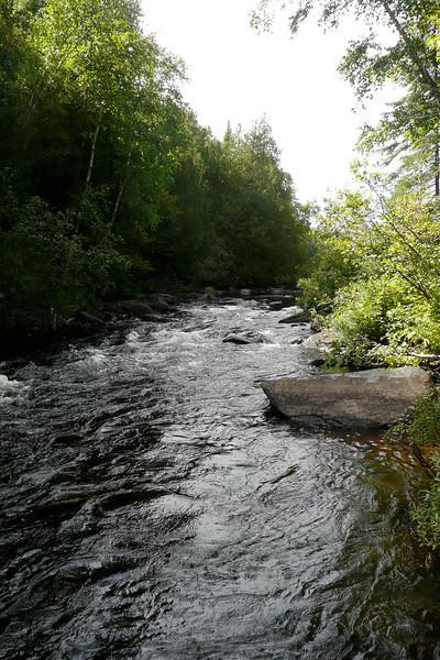 Rapids! Rivière des Rapides. La Vérendrye Wildlife Reserve