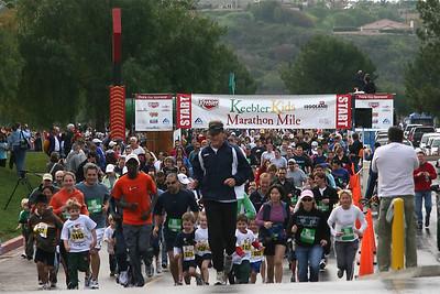 Keebler Kids Marathon Mile Jan 2009