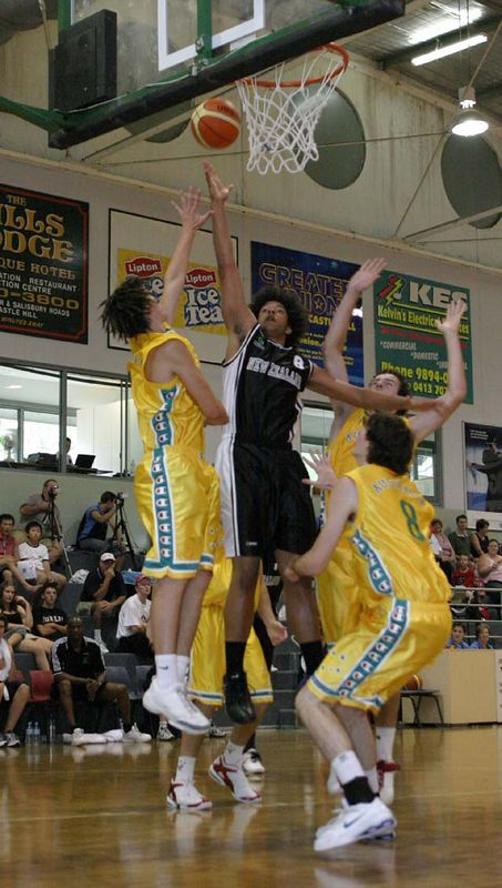Youth Olympics-Syd 2005 Australia Vs New Zealand Men