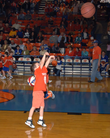 Marshall County Little Dribblers - Preschool & Kindergarten -  January 23, 2007