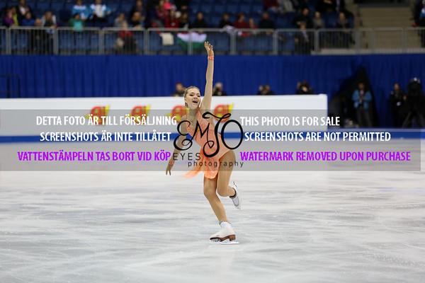 European Championships 2016 Ladies Short Program
