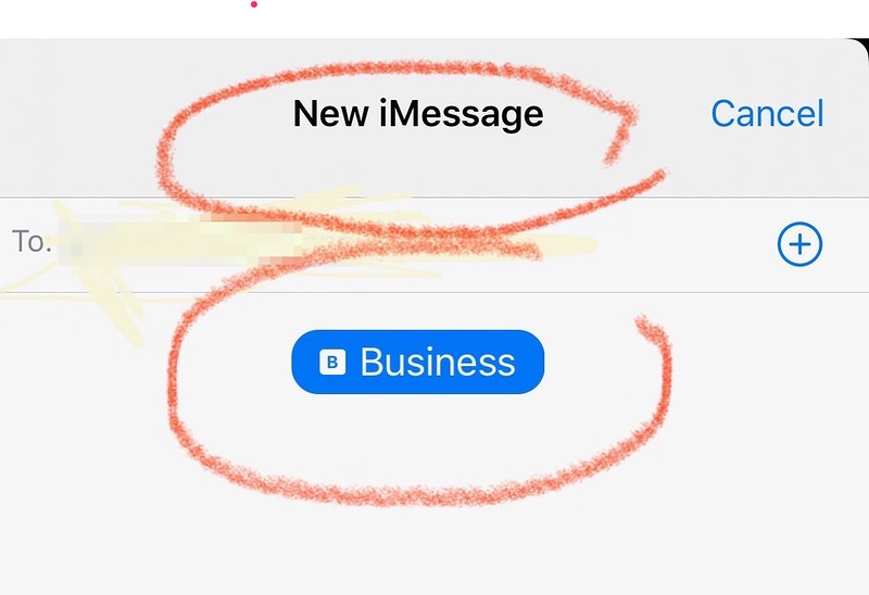 Now you can use BOTH lines for iMessages