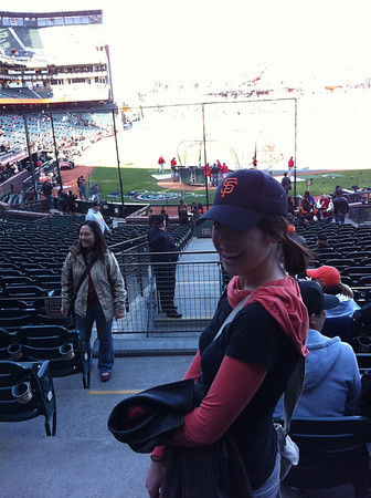 SF Giants Opening Night 2011