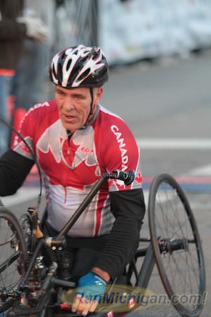 Wheelchair & Handcycle Finish - 2012 Detroit Free Press Marathon