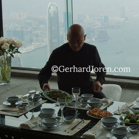 Ken Hom, chef, Hong Kong