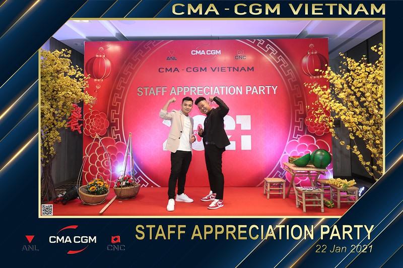 CMA - CGM VIETNAM   Year End Party 2020 instant print photo booth @ New World Hotel Saigon   Chụp hình in ảnh lấy liền Tất niên 2020 tại TP Hồ Chí Minh   WefieBox Photobooth Vietnam
