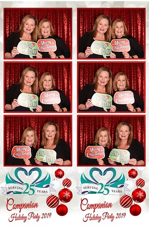 Photo Booth Pics Companion Holiday Party 12-7-19