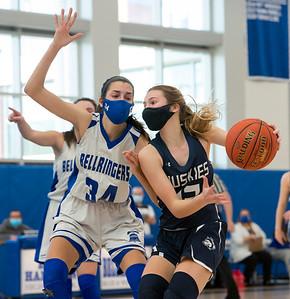 Morgan Girls' Hoops Loses to East Hampton in Shoreline Final