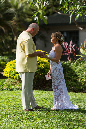First Look and Vows