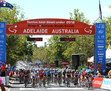 Tour Down Under Stage 6: Adelaide City Centre Criterium, 90kms