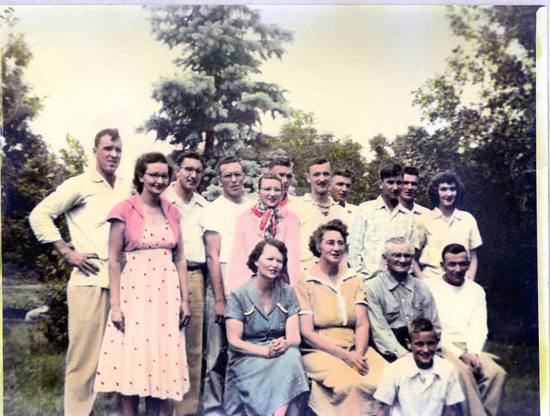 The Ralph Family c1955