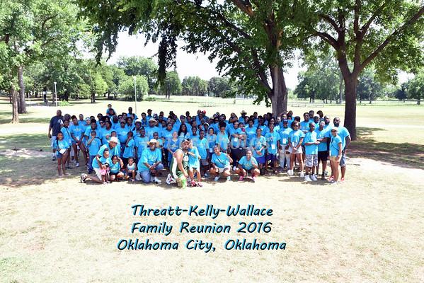 Threatt-Kelly-Wallace Family Reunion 2016