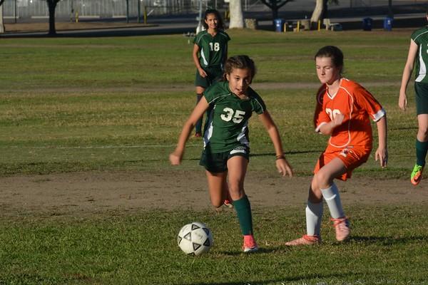 B Girls Soccer