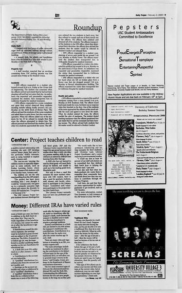 Daily Trojan, Vol. 139, No. 16, February 03, 2000