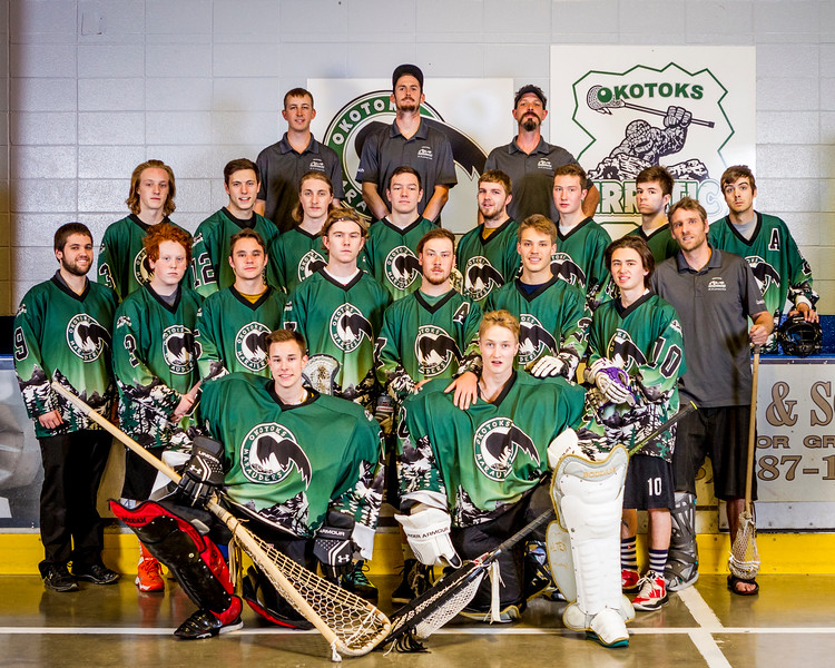 2016 Okotoks Marauders Team Shots